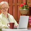 Mature Lady on Laptop